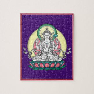 PUZZLE IN TIN -  Chenrezig - Buddha of Compassion