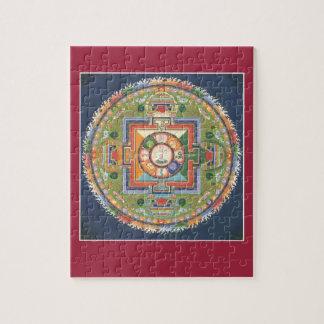 PUZZLE IN TIN - Mandala Buddha of Compassion