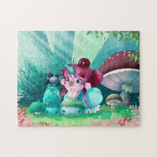 Puzzle kawaii mimü unicorn