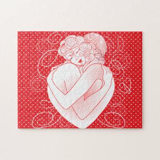 Puzzle Love's embrace