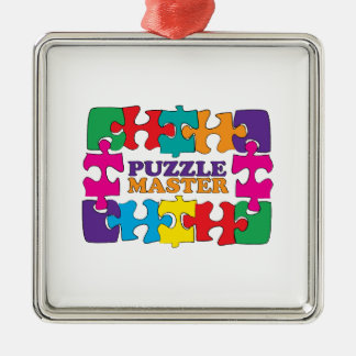 Puzzle Master Christmas Ornament