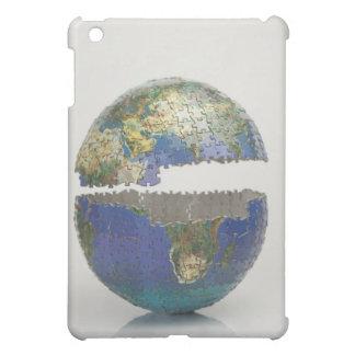 Puzzle of the globe iPad mini covers
