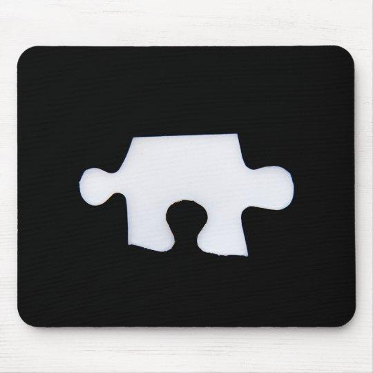 Puzzle piece mouse mat