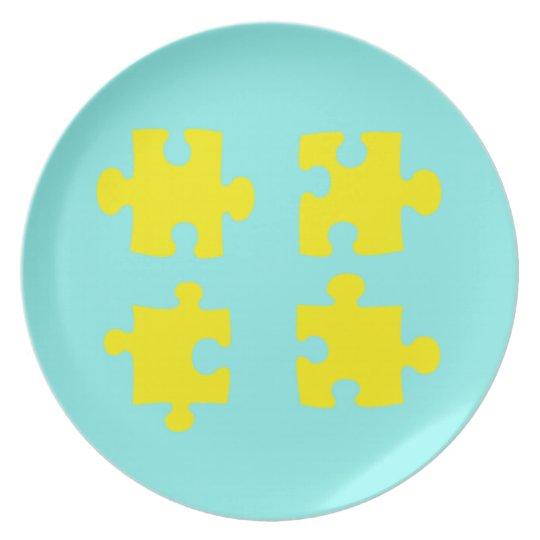 Puzzle Piece Plate