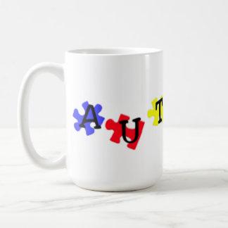 Puzzle Pieces Autism Awareness Mug