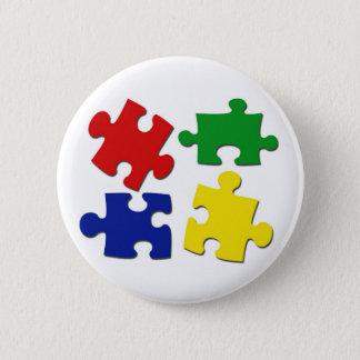 Puzzle Pieces Button