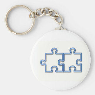 Puzzle Pieces Keychain