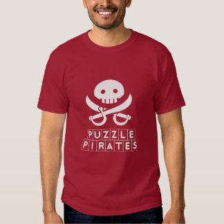 Puzzle Pirates Dark Color Tee Shirts