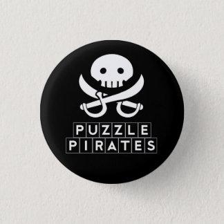 Puzzle Pirates Skull Button