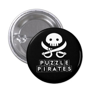 Puzzle Pirates Skull Button