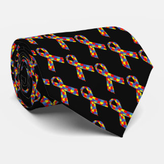 Puzzle Ribbons Tie
