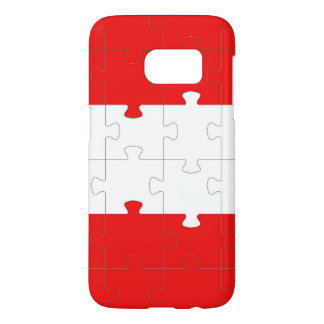 Puzzle Samsung Galaxy S7, Barely There Phone Case