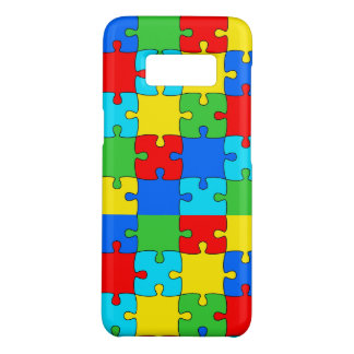 Puzzle Samsung Galaxy S8, Barely There Phone Case