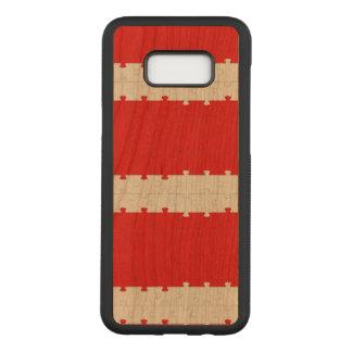 Puzzle Samsung Galaxy S8+ Slim Cherry Wood Case