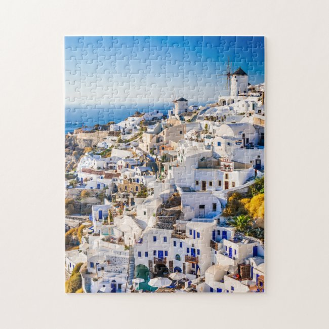 Puzzle Santorini Oia