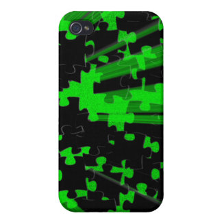 Puzzle Splash iPhone 4 Case