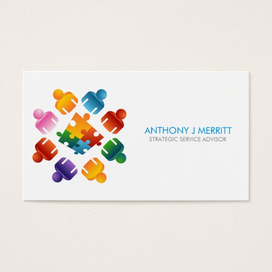 Puzzle Team Business Card