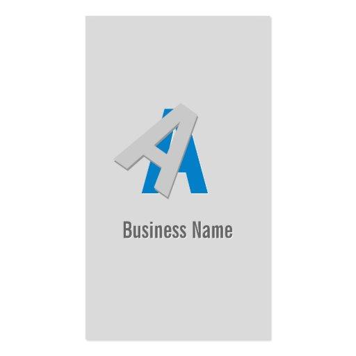 Puzzle Text Apps developer Business Card