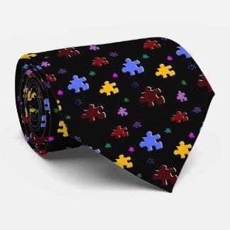 puzzle, tie