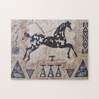 Puzzle--Woven Pony Jigsaw Puzzle