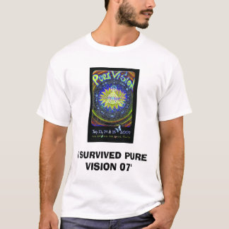 pvf_final[1], I SURVIVED PURE VISION 07' T-Shirt