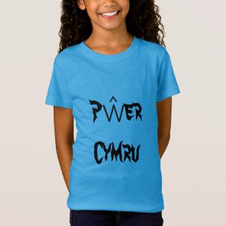 Pŵer Cymru, Welsh Power in Welsh T-Shirt