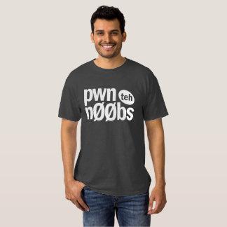 Pwn teh Noobs T-shirt