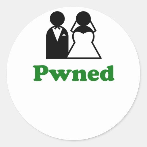 Pwned Sticker