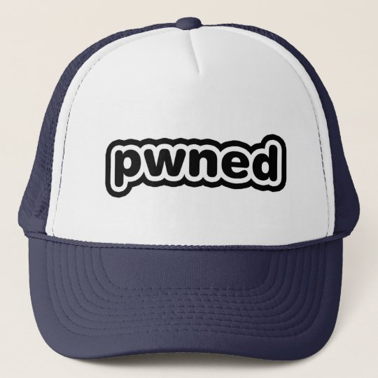 pwned trucker hat