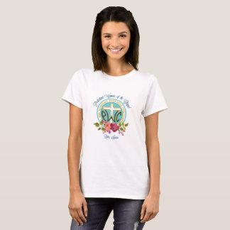 PWOC floral logo t-shirt