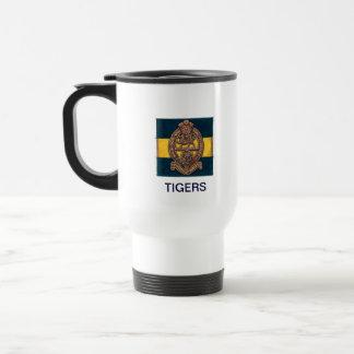 PWRR White Insulated Travel Mug
