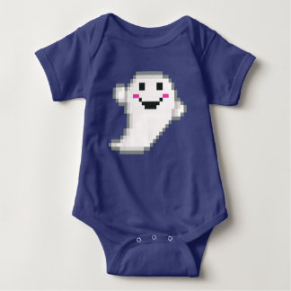 PXL Cute Ghost Baby Bodysuit