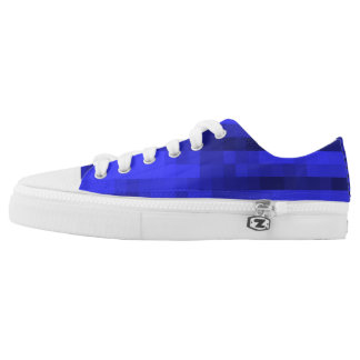 PXL Pattern Blue Low Tops