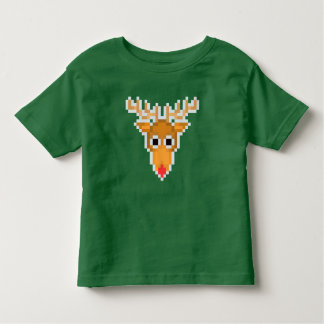 PXL Reindeer (Red Nose) Toddler T-Shirt