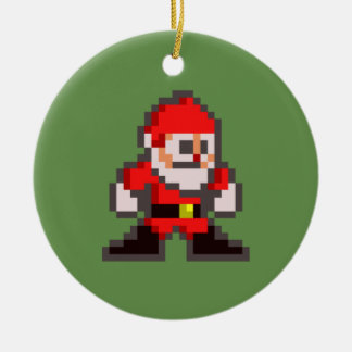 PXL Santa Mega Christmas Ornament
