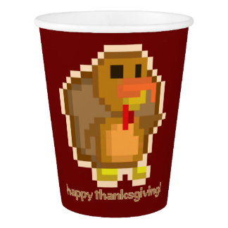PXL Turkey Paper Cup