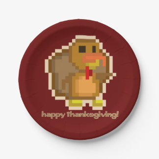 PXL Turkey Paper Plate