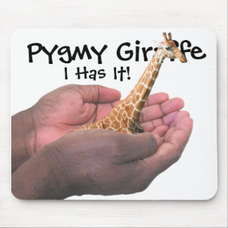 Pygmy Giraffe Mouse Pad