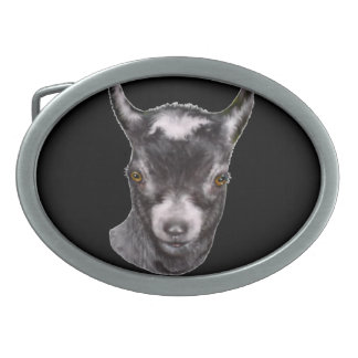 Pygmy   Goat Belt Buckle