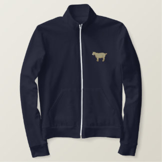Pygmy Goat Embroidered Jacket