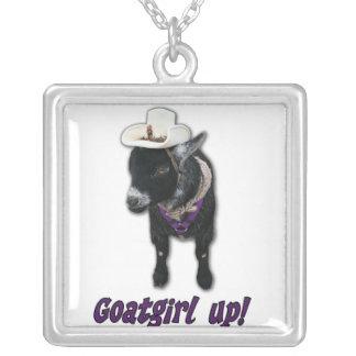 Pygmy Goat Girl Up Necklace