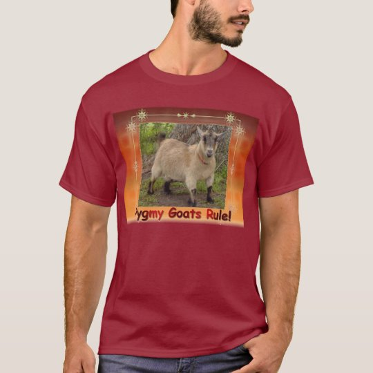 pygmy goats rule t-shirt