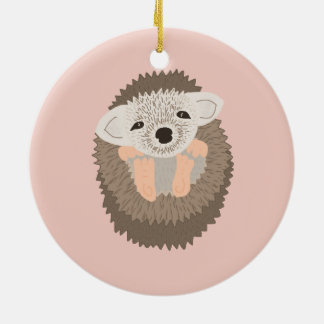 Pygmy Hedgehog is SO Cute! Christmas Ornament