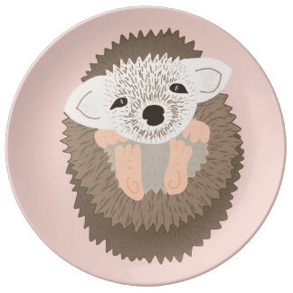 Pygmy Hedgehog is SO Cute! Plate