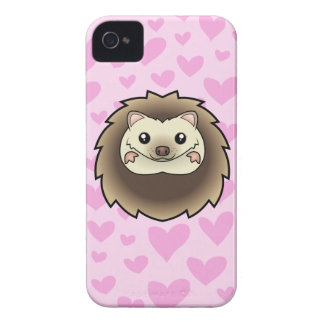 Pygmy Hedgehog Love Case-Mate iPhone 4 Cases