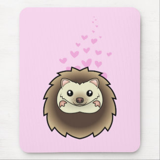 Pygmy Hedgehog Love Mouse Mat