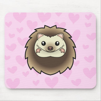 Pygmy Hedgehog Love Mouse Pad