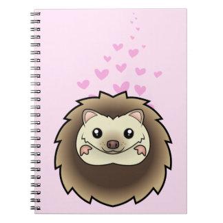 Pygmy Hedgehog Love Notebook