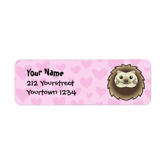 Pygmy Hedgehog Love Return Address Label
