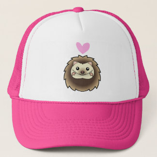Pygmy Hedgehog Love Trucker Hat